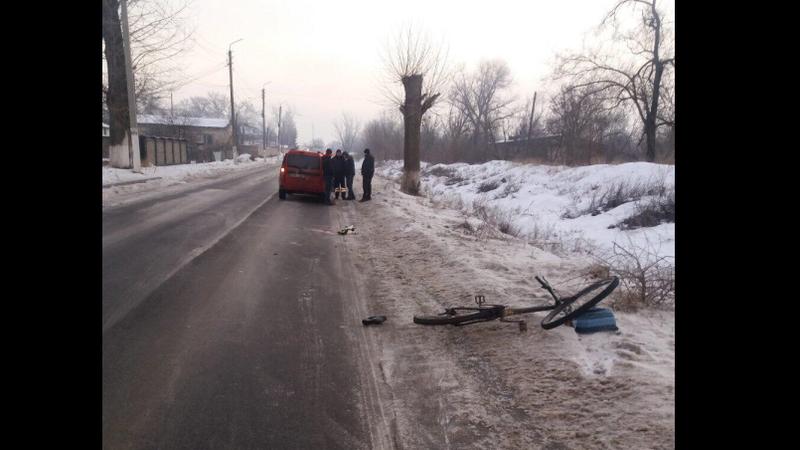 ДТП в Новых Аненах: велосипедист в коме после столкновения с авто