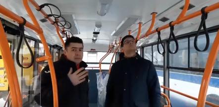 Стараниями социалистов в Кишиневе появился первый троллейбус с кондиционером (ФОТО, ВИДЕО)