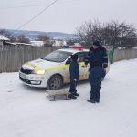 Долгожданный снег в Молдове: полицейские выступили с предупреждениями к детям