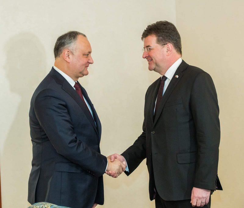 Додон призвал ОБСЕ максимально широко наблюдать за выборами в Молдове (ФОТО)