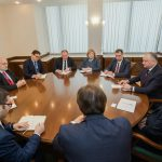 Додон встретился с членами миссии ОБСЕ по мониторингу парламентских выборов в Молдове (ФОТО)