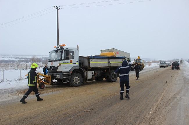 Гололёд в Молдове: ГИЧС рассказал о ситуации на дорогах к этому часу (ФОТО, ВИДЕО)