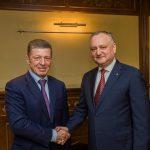 Додон обсудил с Козаком важные вопросы молдо-российского сотрудничества