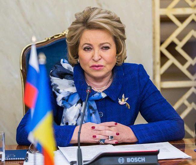 Валентина Матвиенко поздравила президента Молдовы с днём рождения