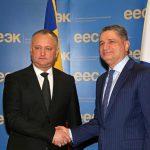Додон: Статус наблюдателя при ЕАЭС позволит РМ успешно развивать связи с партнерами на постсоветском пространстве