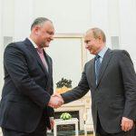 Додон подвел итоги двухдневного визита в Россию