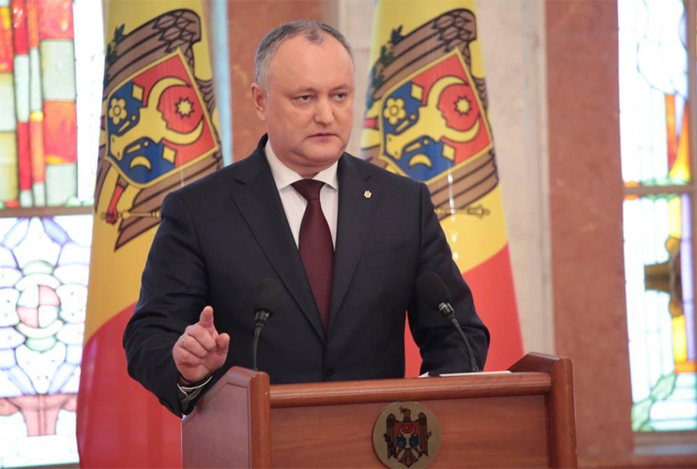 Додон: От результатов выборов в Молдове будут зависеть разные сценарии