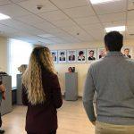 Студенты-стажеры при президентуре посетили здание парламента (ФОТО)