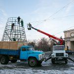 Праздники закончились: елку на ПВНС сегодня демонтируют