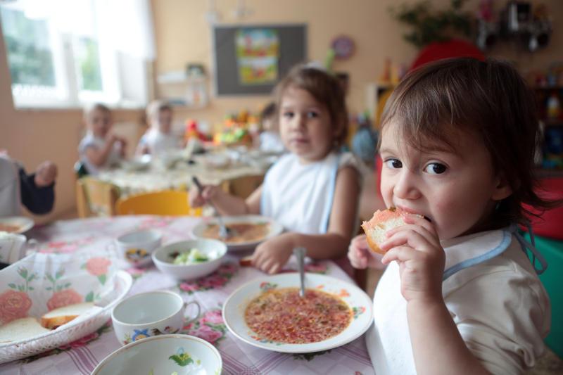 Социалисты представят новую концепцию по закупке продуктов питания для детских садов