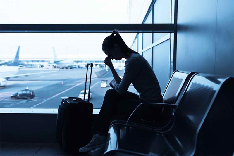 Вылеты и прилеты многих рейсов аннулировали из-за непогоды