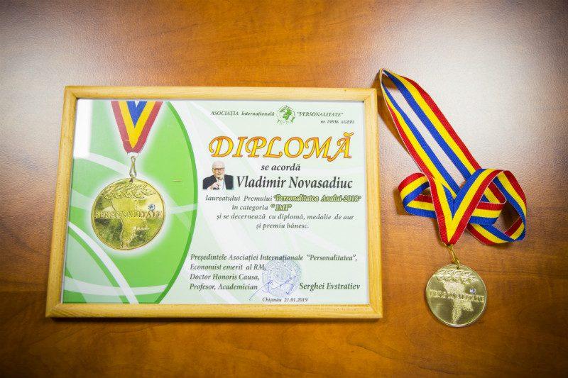 Руководитель Sputnik Молдова удостоен премии «Человек года — 2018»