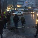 """Очередной инцидент на """"зебре"""": в центре столицы сбили пешехода"""