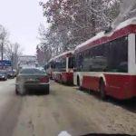 ДТП в Бельцах: в легковушку въехал микроавтобус (ВИДЕО)