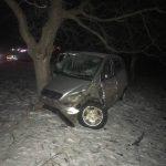 В Дондюшанах водитель на высокой скорости влетел в дерево