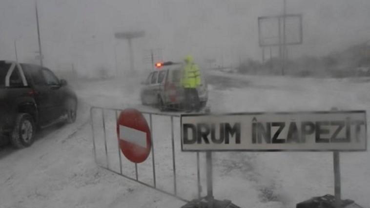 Вниманию путешественников: проезды к КПП Албица перекрыты из-за снега