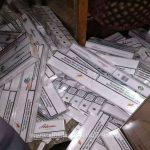 В поезде Кишинёв-Бухарест обнаружено более 20 000 контрабандных сигарет (ФОТО)