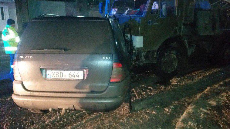 ДТП в Бельцах: внедорожник протаранил грузовик, есть погибший (ФОТО)
