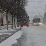 Снегопад в Кишиневе: горожан призвали пересесть с личного транспорта на общественный