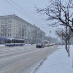 Внимание, кишиневцы! Некоторые улицы закрыты в результате обильного снегопада