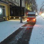 Ситуация на дорогах столицы к этому часу: общественный транспорт курсирует в привычном режиме