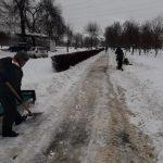 Чистая столица: муниципальные службы активно участвуют в уборке снега с улиц (ФОТО)