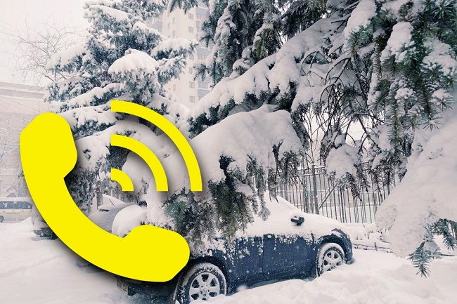 Куда звонить молдавским водителям, застрявшим в снегу