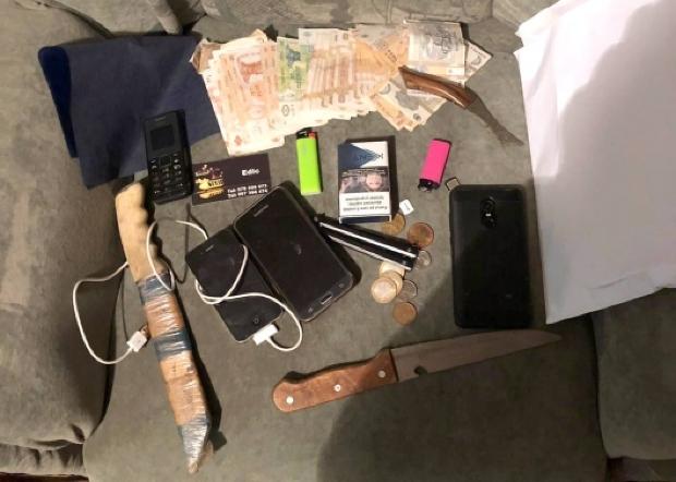 Момент задержания подозреваемых по делу ограбления в Дрокии показали на видео