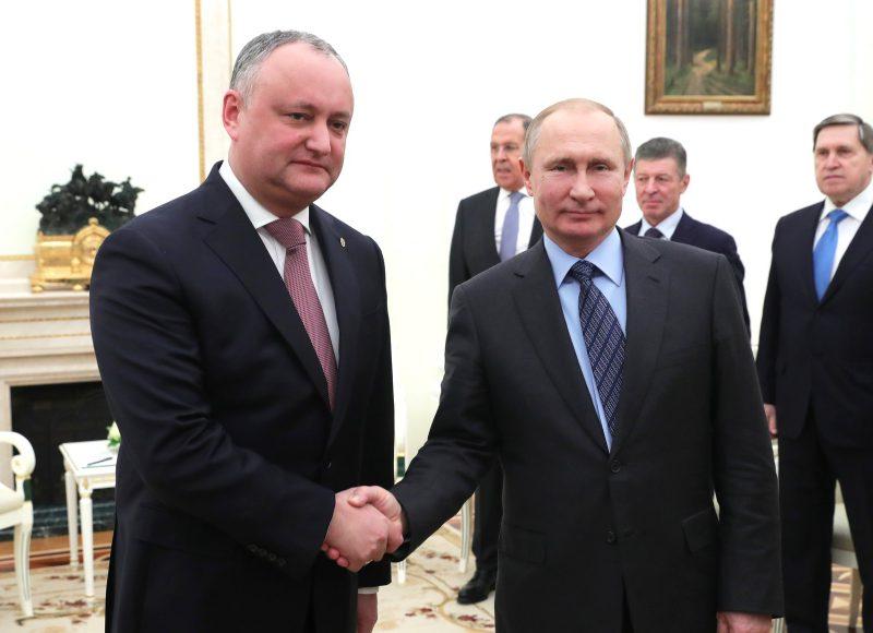Додон: Все договоренности с Путиным, достигнутые до сих пор, были исполнены (ВИДЕО)