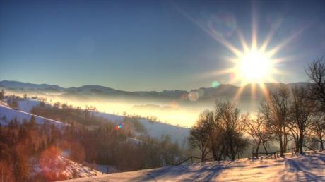 На следующей неделе в Молдову придёт потепление
