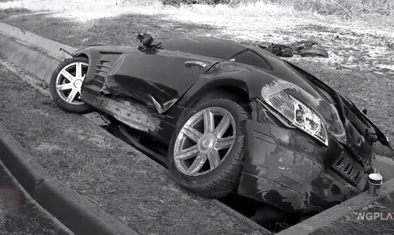 Накосячил и в кусты: водитель иномарки провалился в водосточный канал в Бачое и сбежал с места ДТП (ВИДЕО)
