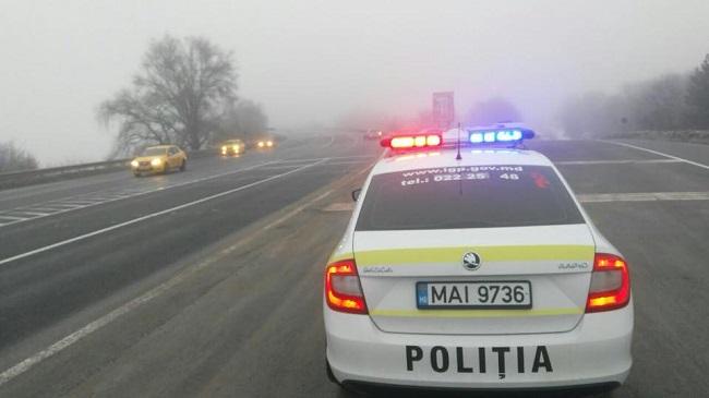 В Дрокии водитель-нарушитель и его 9 товарищей избили двух патрульных полицейских