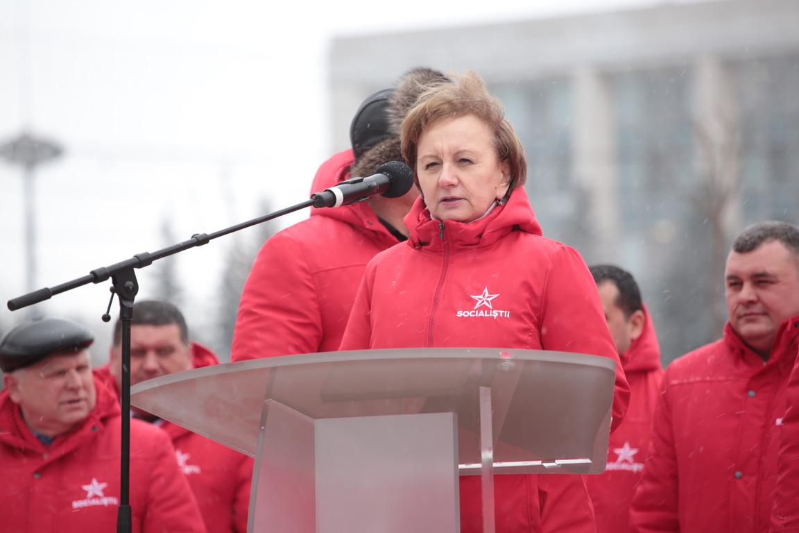 Гречаный: Социалисты создадут коалицию только с народом Молдовы! (ВИДЕО)
