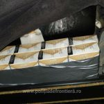 Румынские пограничники пресекли попытку контрабанды сигарет молдавского происхождения (ФОТО)