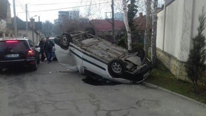 Утреннее ДТП в столице: пострадали двое взрослых и ребёнок