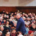 Игорь Додон остается лидером народного доверия: число граждан, довольных деятельностью президента, выросло за месяц на 10%