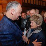 На этой неделе президент посетит еще порядка 7 районов Молдовы (ВИДЕО)