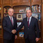 Додон обсудил достигнутые договоренности с Путиным с послом России в Молдове (ФОТО, ВИДЕО)