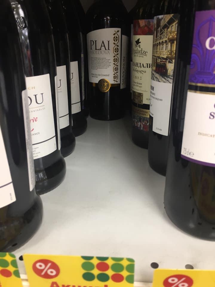 Молдавские яблоки и вино разбирают в российских магазинах, как горячие пирожки (ФОТО)