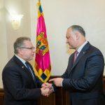 Додон обсудил предстоящие выборы с послом Франции (ФОТО, ВИДЕО)