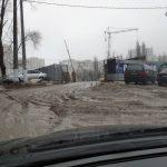 Фотографии могут повергнуть в шок: асфальт растаял вместе со снегом и улицы столицы превратились в болото (ФОТО)