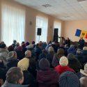 Жители Молдовы массово участвуют во встречах с Зинаидой Гречаный (ФОТО)