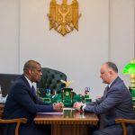 Додон встретился с послом США в Молдове (ФОТО, ВИДЕО)