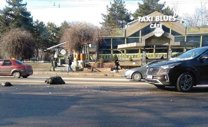 В Кишинёве автомобилист сбил перебегавшего в неположенном месте мужчину