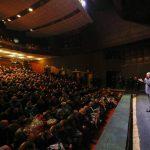 Яблоку негде упасть: в Бельцах президента также встретил полный зал (ФОТО, ВИДЕО)