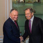 Додон встретился с Лавровым в Мюнхене (ВИДЕО, ФОТО)