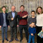 Лепс отведал традиционные молдавские плацинды и домашнее вино в гостях у президента (ВИДЕО)