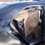 Патрульные поймали водителя, перевозившего около 8 000 пачек сигарет