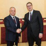 Додон обсудил двусторонние отношения с президентом Сербии (ВИДЕО, ФОТО)
