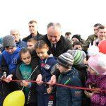 Президент открыл новый спортивный комплекс, построенный по его инициативе в Бессарабке (ФОТО, ВИДЕО)
